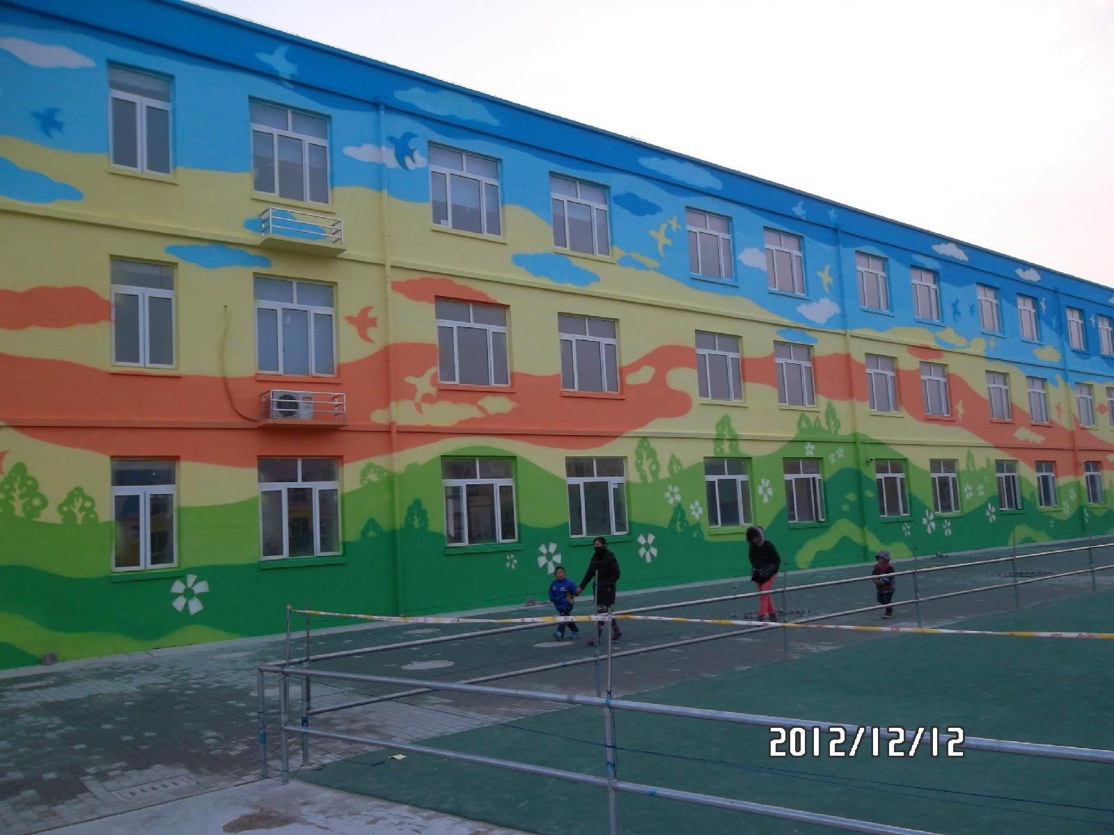 3d绘画,古建筑